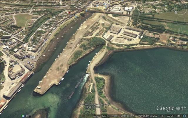 South Quay aerial 2009